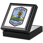 Alaska Game Warden Keepsake Box