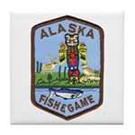 Alaska Game Warden Tile Coaster