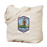 Alaska Game Warden Tote Bag