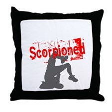 Until Someone Gets Scorpioned Throw Pillow