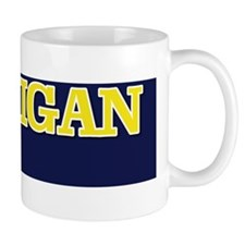 Michigan Bumper Sticker 1 Mug