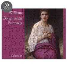 Bouguereau Paintings Wall Calendar cover Lu Puzzle