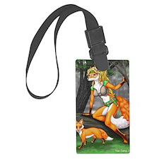 Summon fox 8x10 Luggage Tag