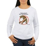 Archaeologists Don't Dig Dinosaurs Women's Long Sl