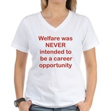 WELFARE WAS NEVER INTENDED  Shirt