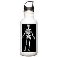 Skeleton, Worn, Water Bottle