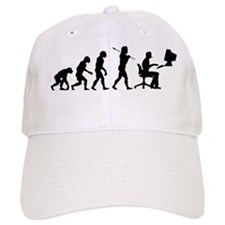 evolution computer14x6 Baseball Cap