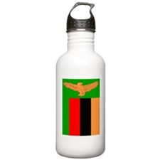 Zambian Flag Water Bottle