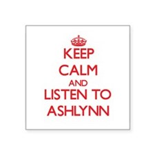 Keep Calm and listen to Ashlynn Sticker