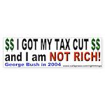 I Got a Tax Cut Bumper Sticker