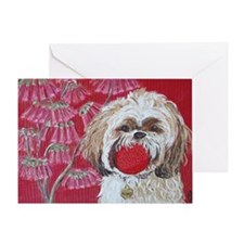5x7H ZoesBall Greeting Card
