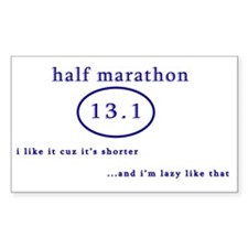 halfmarathon Decal