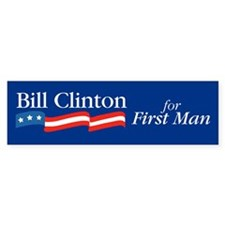 Bill First Bumper Bumper Sticker