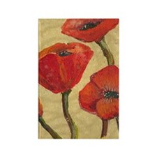 poppy-parade441_iphone_case Rectangle Magnet
