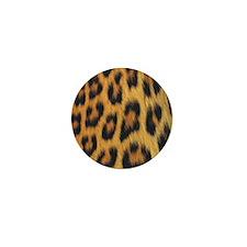 leopard skin Mini Button