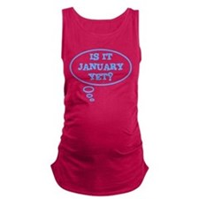 Is it January yet? Maternity Tank Top