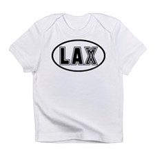 Lacrosse Lax Oval Infant T-Shirt