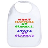 What happens at Gramma's... Bib
