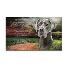 godmadedogs(tote) Rectangle Car Magnet