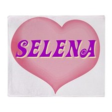 SELENA01 Throw Blanket