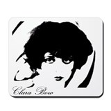 Cute Clara bow Mousepad
