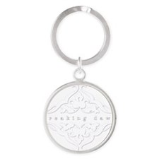 breaking-dawn001-dark Round Keychain