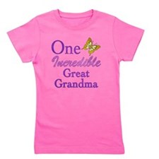 IncredibleGreatGrandma Girl's Tee