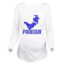 parkour distressed b Long Sleeve Maternity T-Shirt