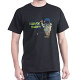 Cleared For Takeoff Black T-Shirt
