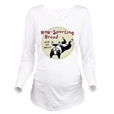bostonnonsportingred Long Sleeve Maternity T-Shirt