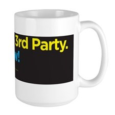 3rd party NOW-blk Mug