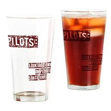 pilots2 Drinking Glass