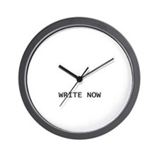 Wall Clock - Write Now