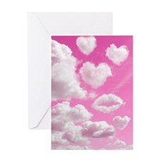 556 Heart Clouds for Cafe Press d Greeting Card