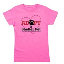 Adopt a Shelter Pet Frederick MD Girl's Tee