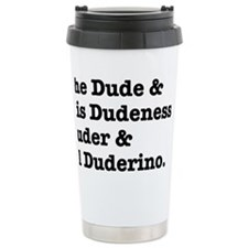 thedude Ceramic Travel Mug