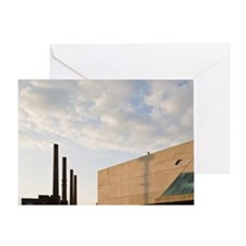 Wolfsburg. PHAENO Science Center and Greeting Card