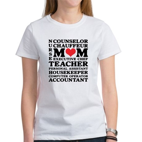 Mom's Jobs Mother's Day Women's T-Shirt