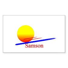 Samson Rectangle Decal