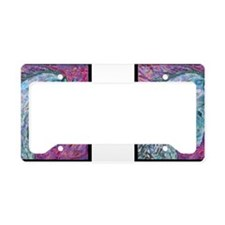Passion Horse License Plate Holder