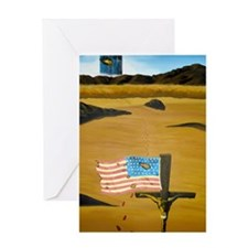 September 11, 2001-mini poster Greeting Card