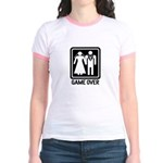 Funny Wedding Jr. Ringer T-Shirt