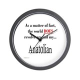 Anatolian World Wall Clock