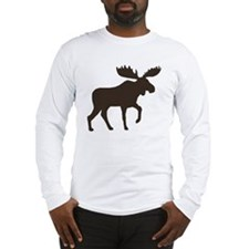 moosebrown Long Sleeve T-Shirt