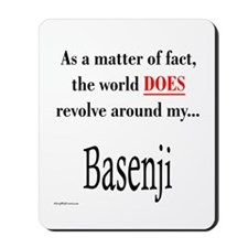 Basenji World Mousepad