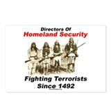 Fighting Terrorism Since 1492 - Apache Postcards (