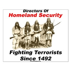 Fighting Terrorism Since 1492 - Apache Posters