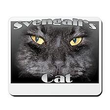 Svengaliscatnewsquare Mousepad