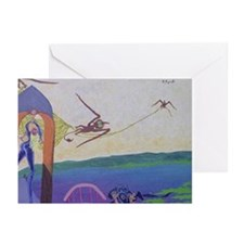 Theft of the bell Greeting Cards (Pk of 10)