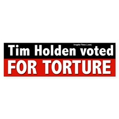 Tim Holden for Congress Bumper Sticker
